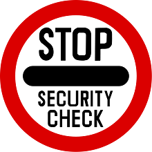 Stop Security Sign