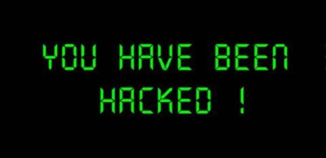 A hackers message saying You Have Been Hacked